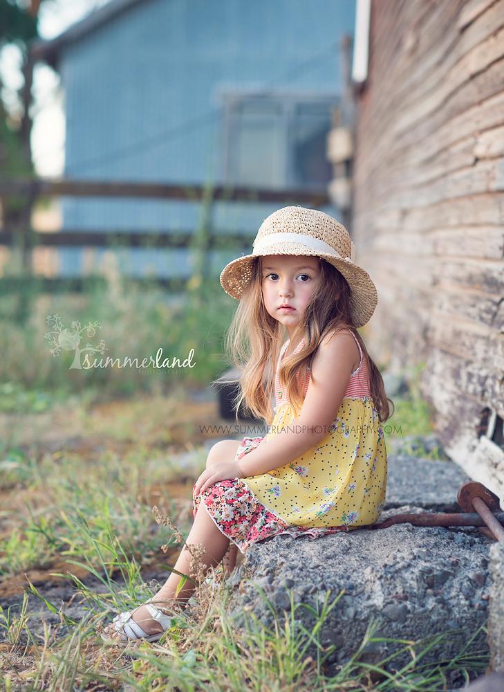 Walla Walla, WA child portrait photographer