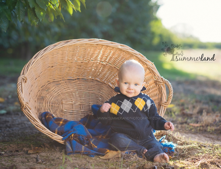 Prosser Grandview Washington 6 month baby pictures
