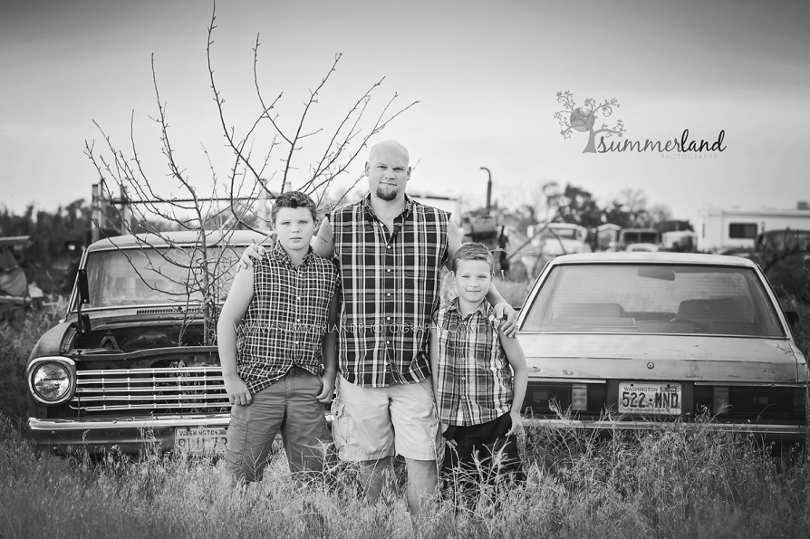 Black and white photography in Tri-Cities, Washington